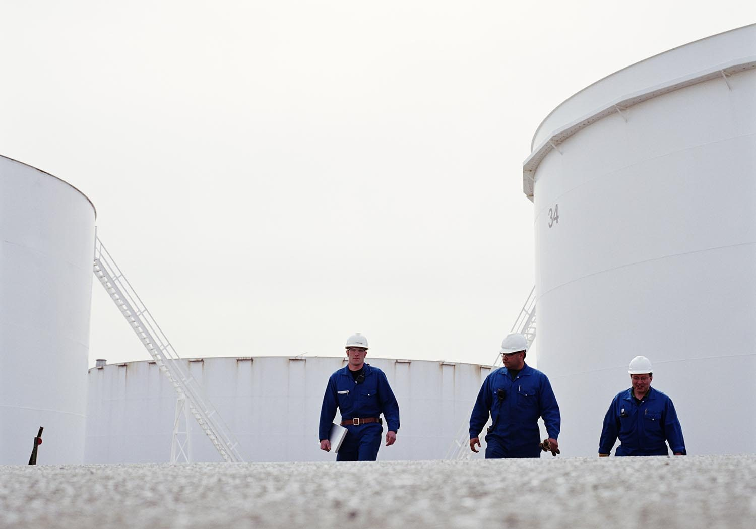 PetroGas Oil Refinery Workers